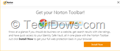Norton Toolbar Chrome