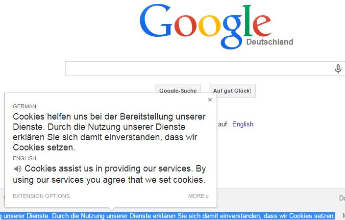google chrome plugins translate
