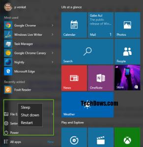 windows 10 shutdown keyboard shortcut