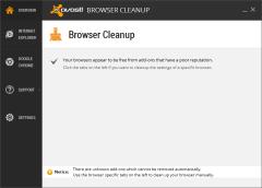 Avast Browser Cleanup havoc
