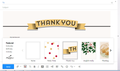 Yahoo Mail with new stationery designs from Paperless Post