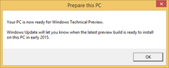 Get  Windows 7 or Windows 8.1 PC ready for Windows 10 Preview
