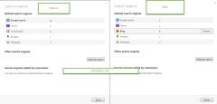 Opera 26 Bing default