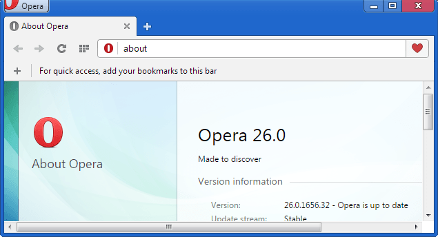 Opera 26 Officially released, brings Bookmarks Sharing ...