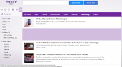 news stream with summaries Yahoo Mail