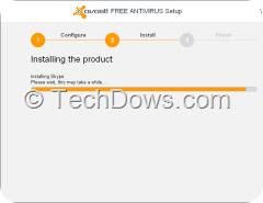 Avast installing skype