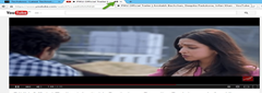 Firefox showing an audio indicator for a video playing tab YouTube