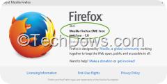 Firefox 38.0 EME Free