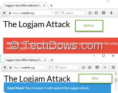 Fix logjam in Firefox browser