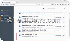 VLC Web Plugin Firefox