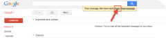 Gmail confirms message sent offers undo button