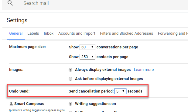 How to Enable Gmail 'Undo Send' for 30 Seconds