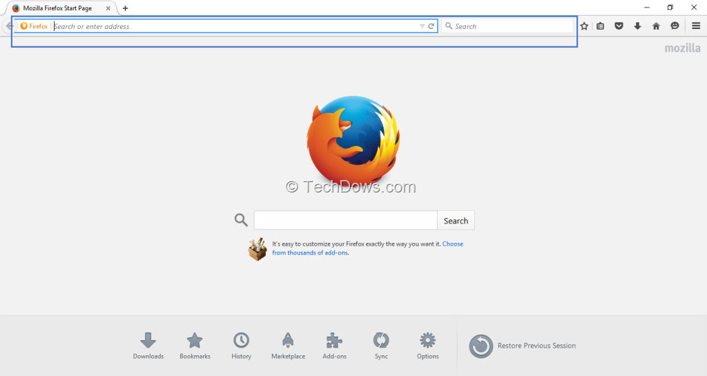 Firefox 40 In Windows 10 Features Slight Theme Changes
