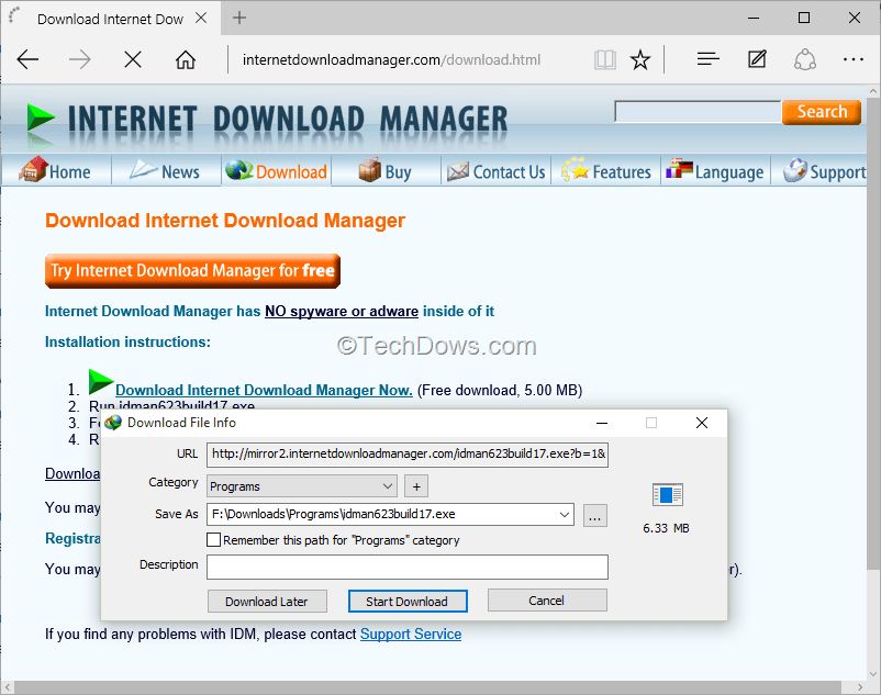 Add internet download manager to microsoft edge windows 10 youtube.