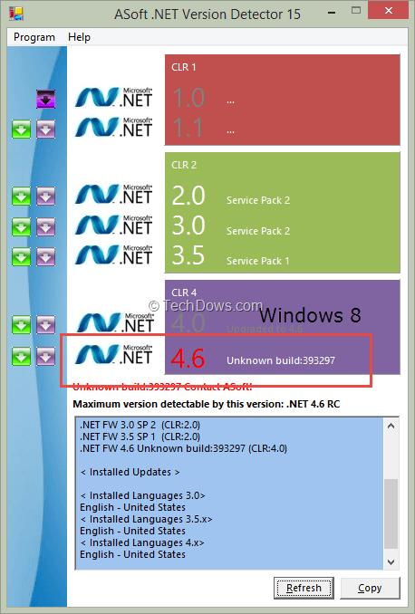 microsoft net framework 4 6