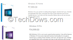 Windows 10 Home and Pro available to purchase in India from Microsoft Official Store