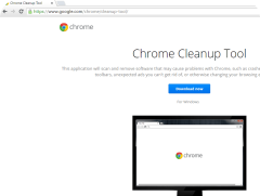 Chrome Cleanup Tool page
