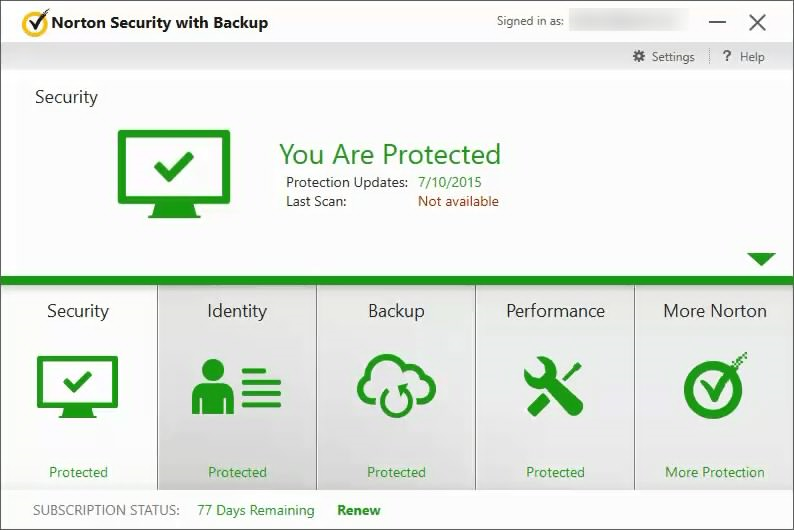 After upgrade to windows 10 both ns and windows defender appear to.