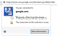 connection to google.com verified by Avast Web or Mail shield