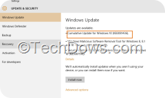 cumulative update for Windows 10 KB3081436