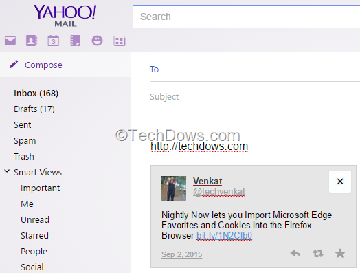 how to change your signature in yahoo