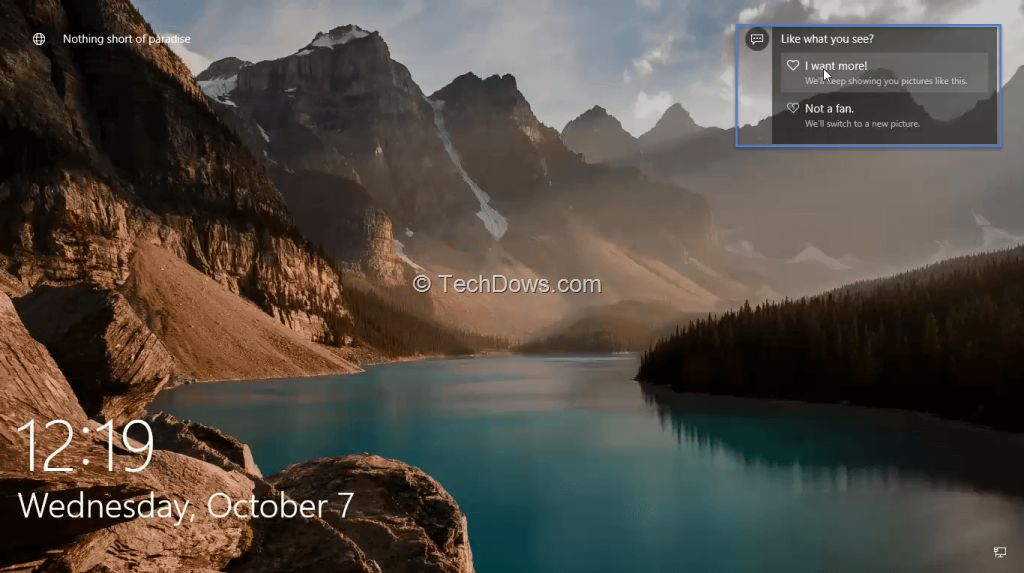 enable windows spotlight in windows 10 pro to get better