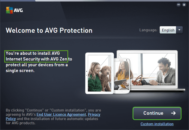 avg virus guard free  full version