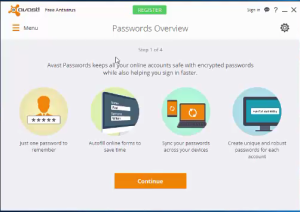 Avast Passwords Overview