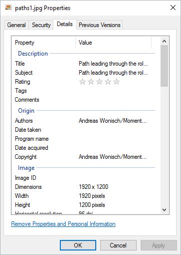 Where Windows 10 Themes Photos Were Taken