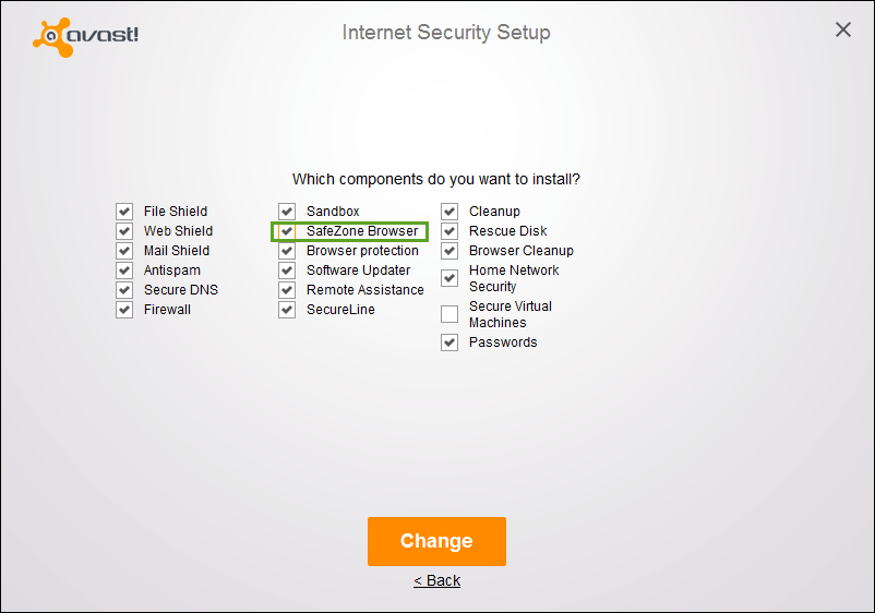 How to uninstall or remove Avast SafeZone Browser?
