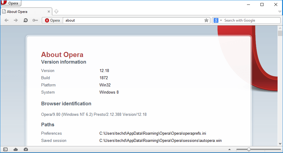 Opera 12 last Update, Opera 12.18 stable released