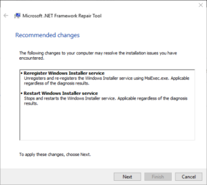 Microsoft .NET framework Repair Tool 1.3