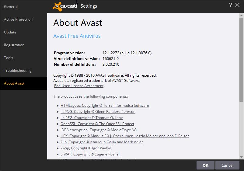 Avast free antivirus 12.1.2272 Nitro Update