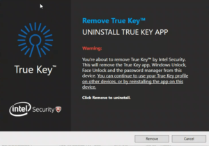 True Key uninstall 1