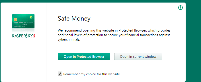 open in protected browser prompt