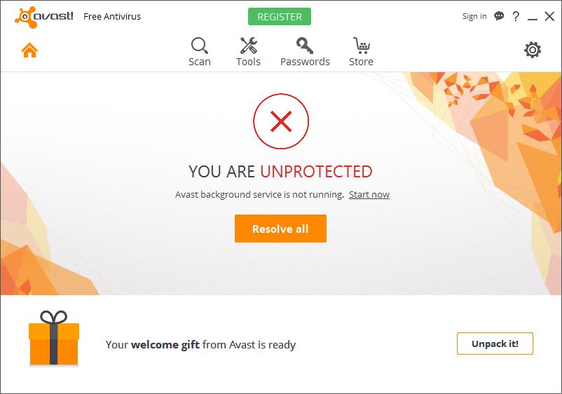 avast cleanup premium not starting