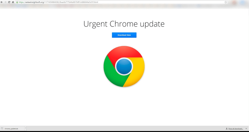 urgent Chrome update