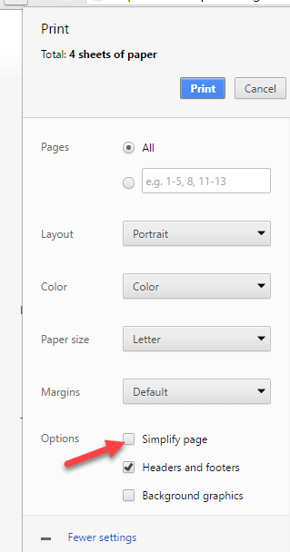 chrome-simplify-page-printing-option