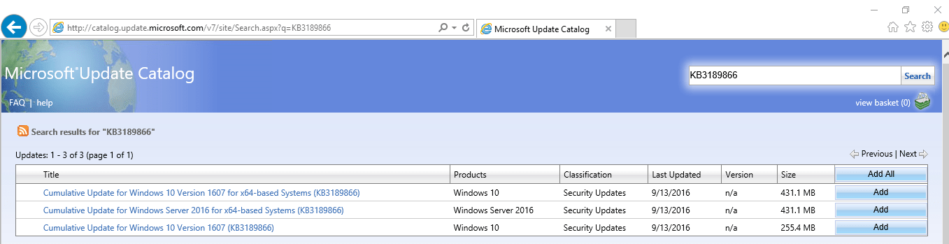 microsoft-update-catalog-search-results