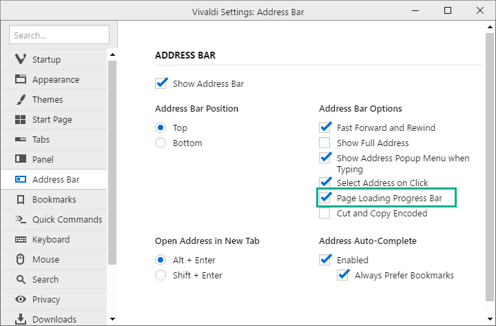 vivaldi-address-bar-settings