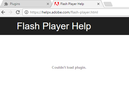 Adobe Flash Player Troubleshooting Chrome