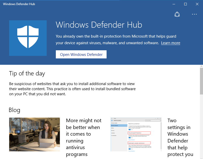 windows-defender-hub
