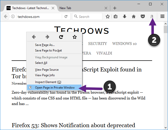 open-page-in-private-window-firefox-extension