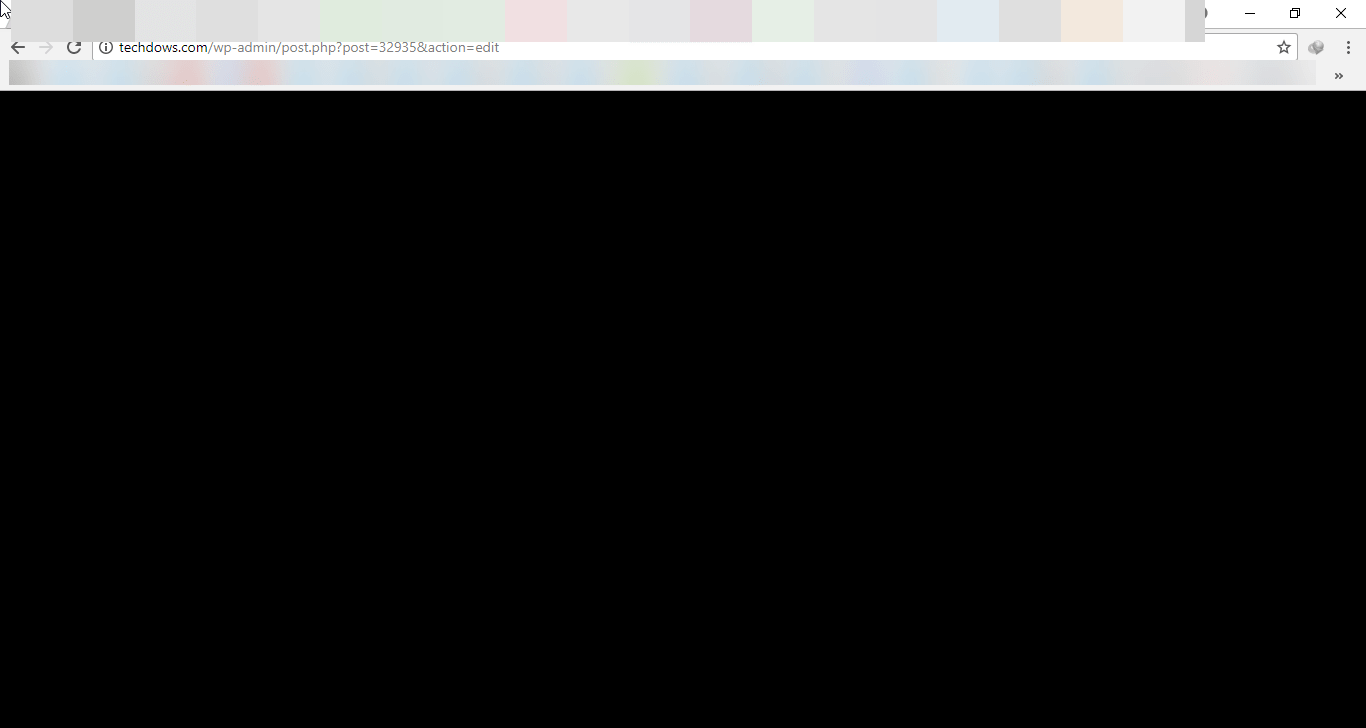 Fix Chrome shows black Screen when minimized or maximized