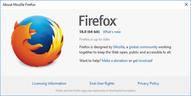 Firefox 56: Here is what's new