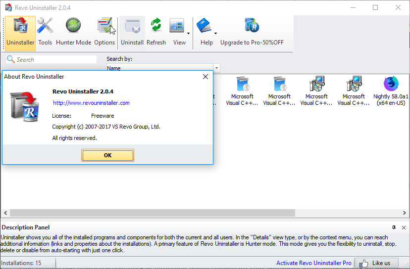 Revo Uninstaller free 2 0 4 improves leftovers Scanning