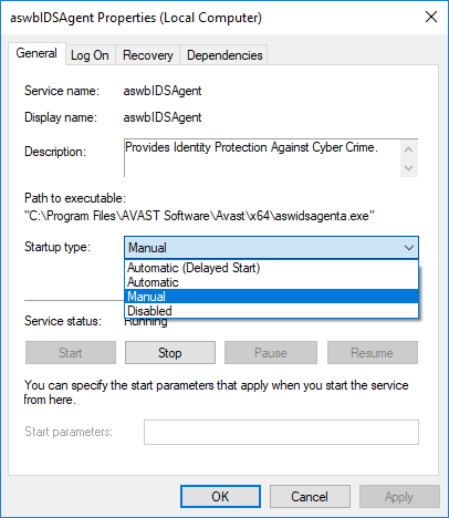 how to turn off uninstall shield