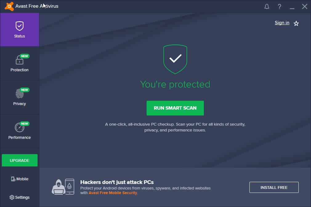 Avast Free Antivirus 17 9 Minor Update released