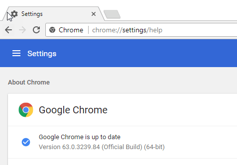 Chrome 63 released, here is what's new