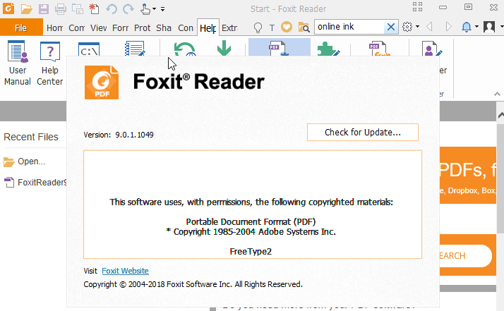 Foxit Pdf Reader Exe